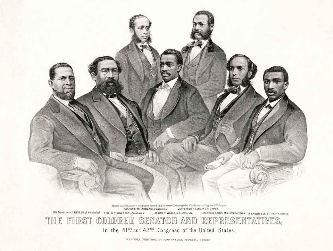 First Black Senators and Representatives in the United States