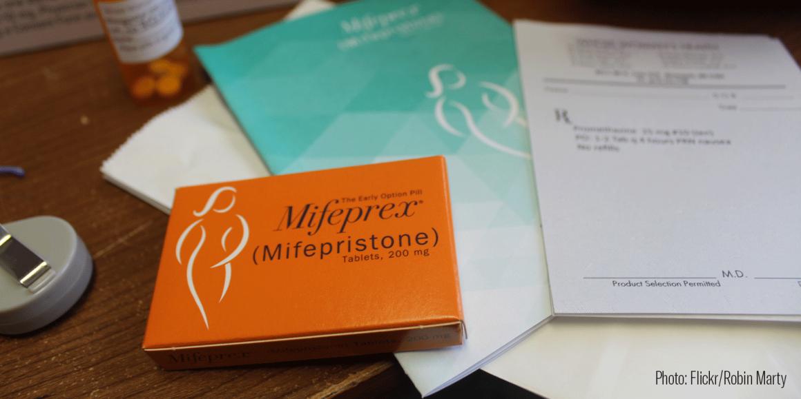 Mifepristone medication abortion