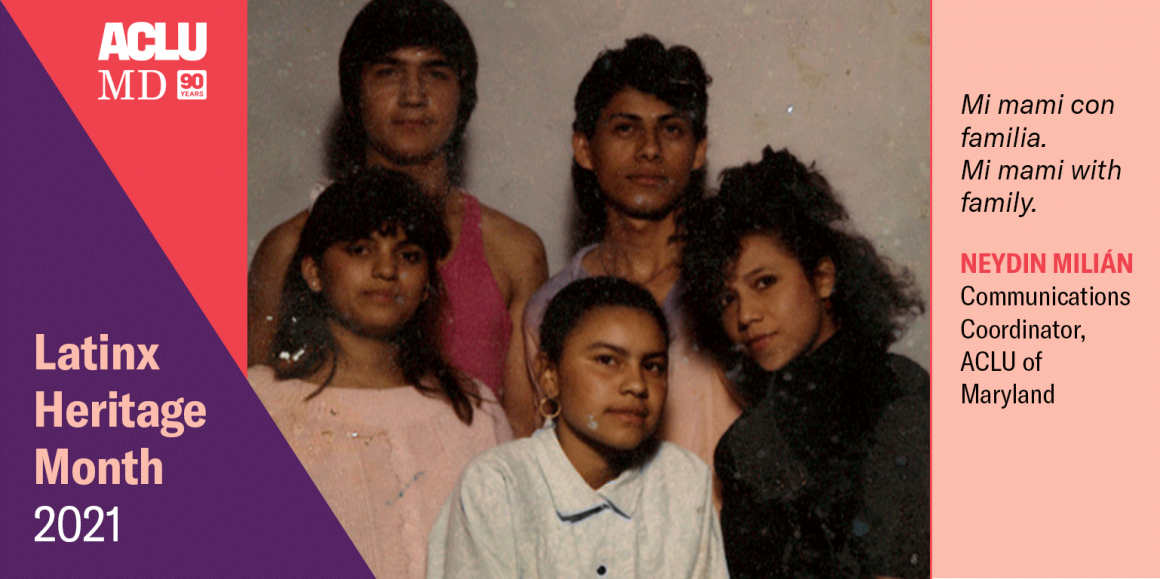 Neydin Milián. Mi mami con familia. Mi mami with family.