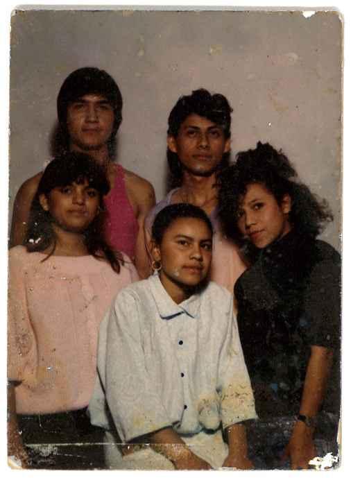 Neydin Milián's mother and family