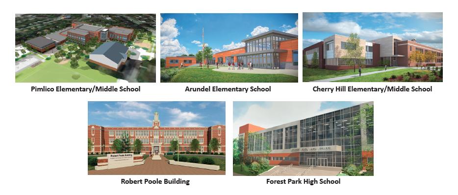 5 News Schools Opening in Baltimore