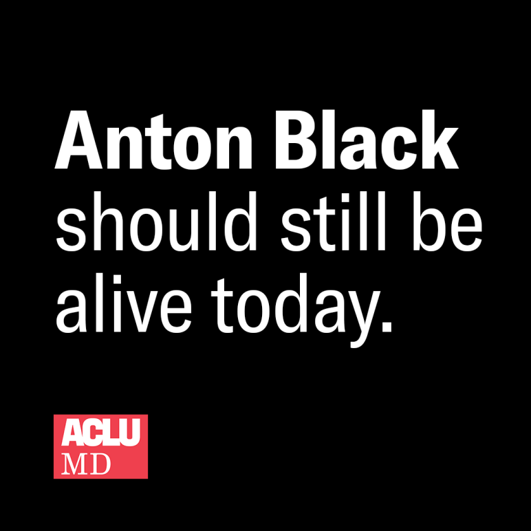 Anton Black should still be alive today.