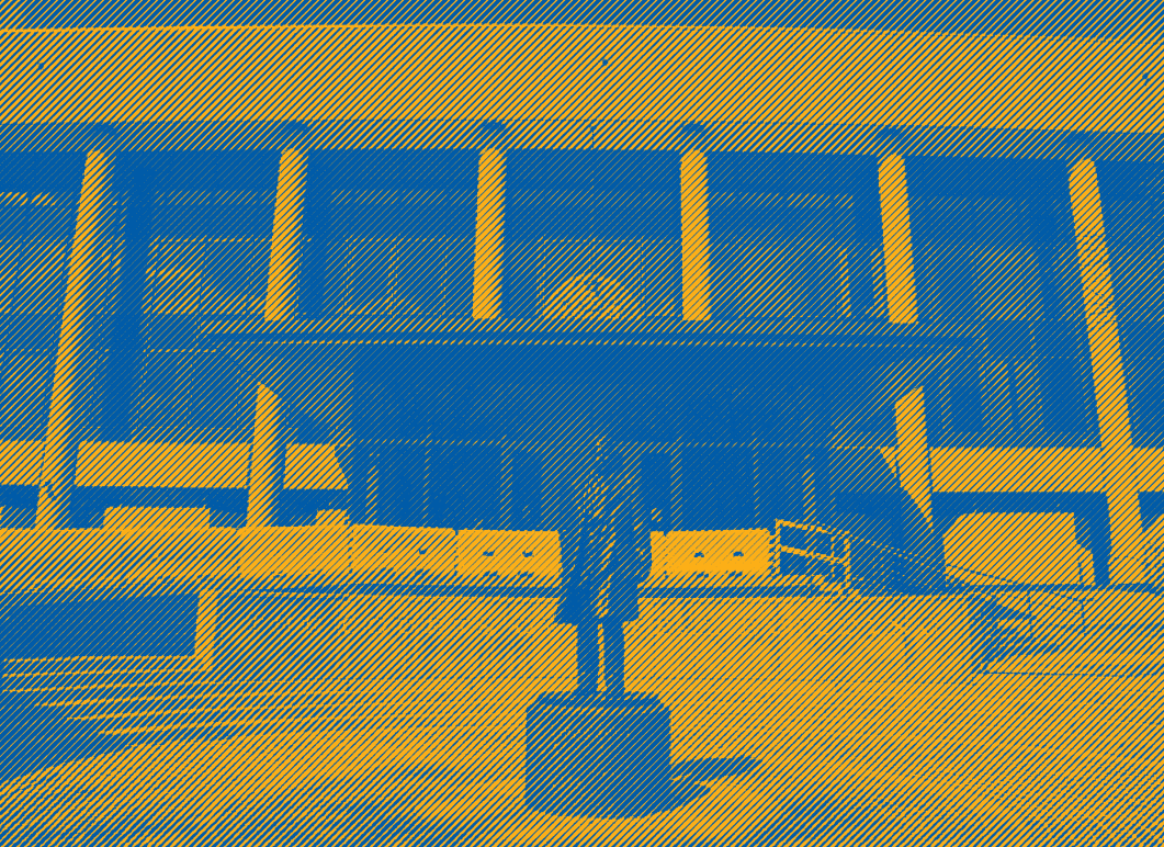 Maryland Court of Appeals with blue and yellow treatment