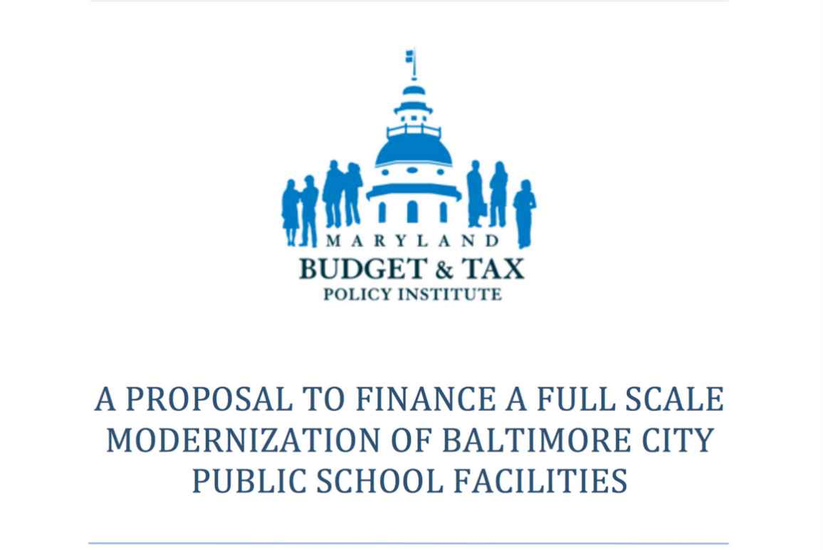 MD Budget and Tax Policy report
