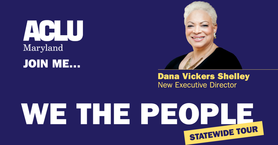 Join Me... Dana Vickers Shelley New Executive Director for the We the People Statewide Tour
